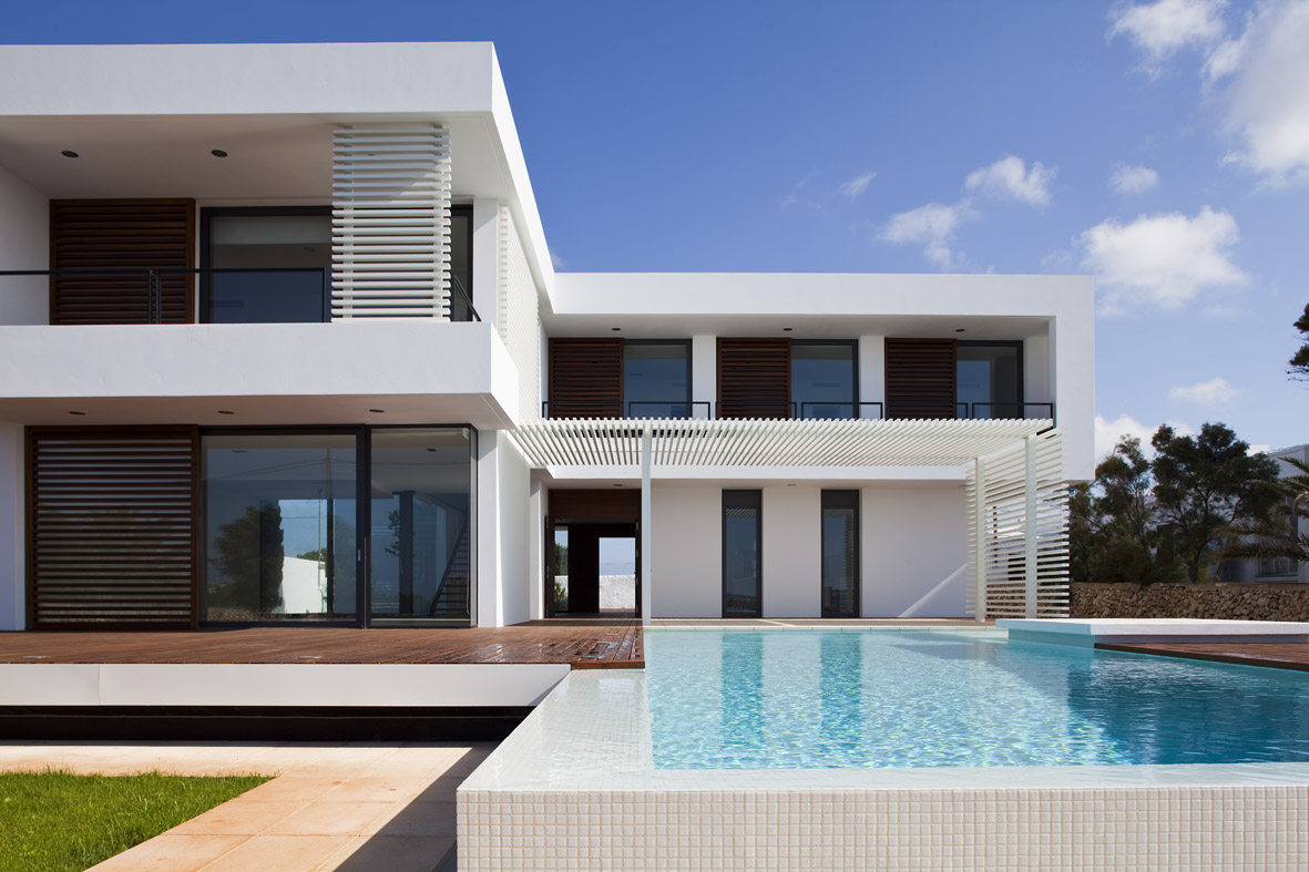 Private house in menorca dom arquitectura for Arquitectura de casas modernas planos