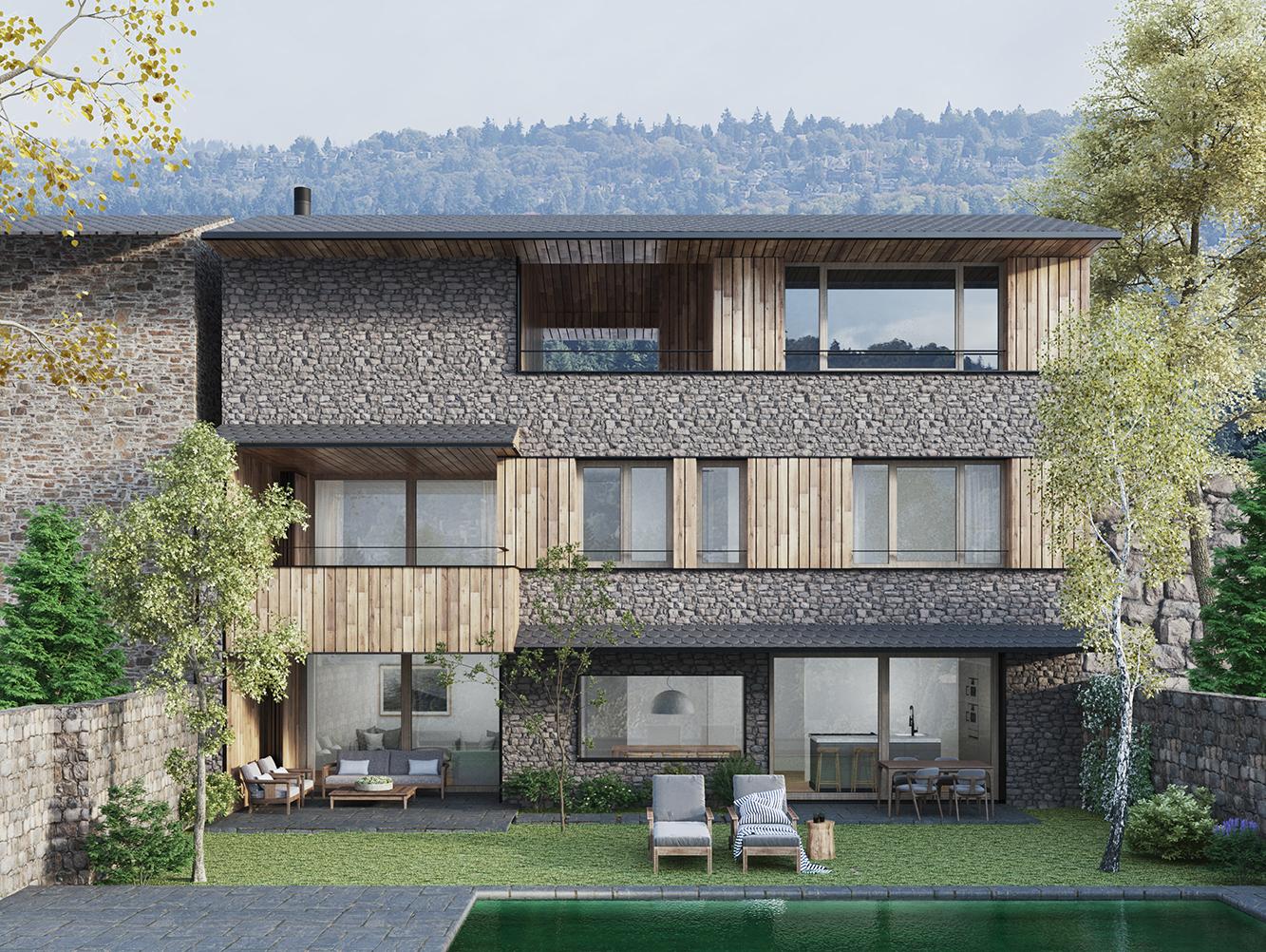 2020 - House in Llivia, Cerdanya