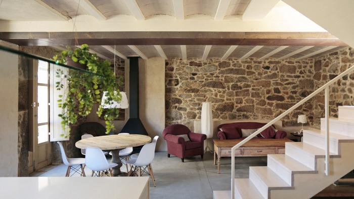 Rehabilitación de una casa en Carnota