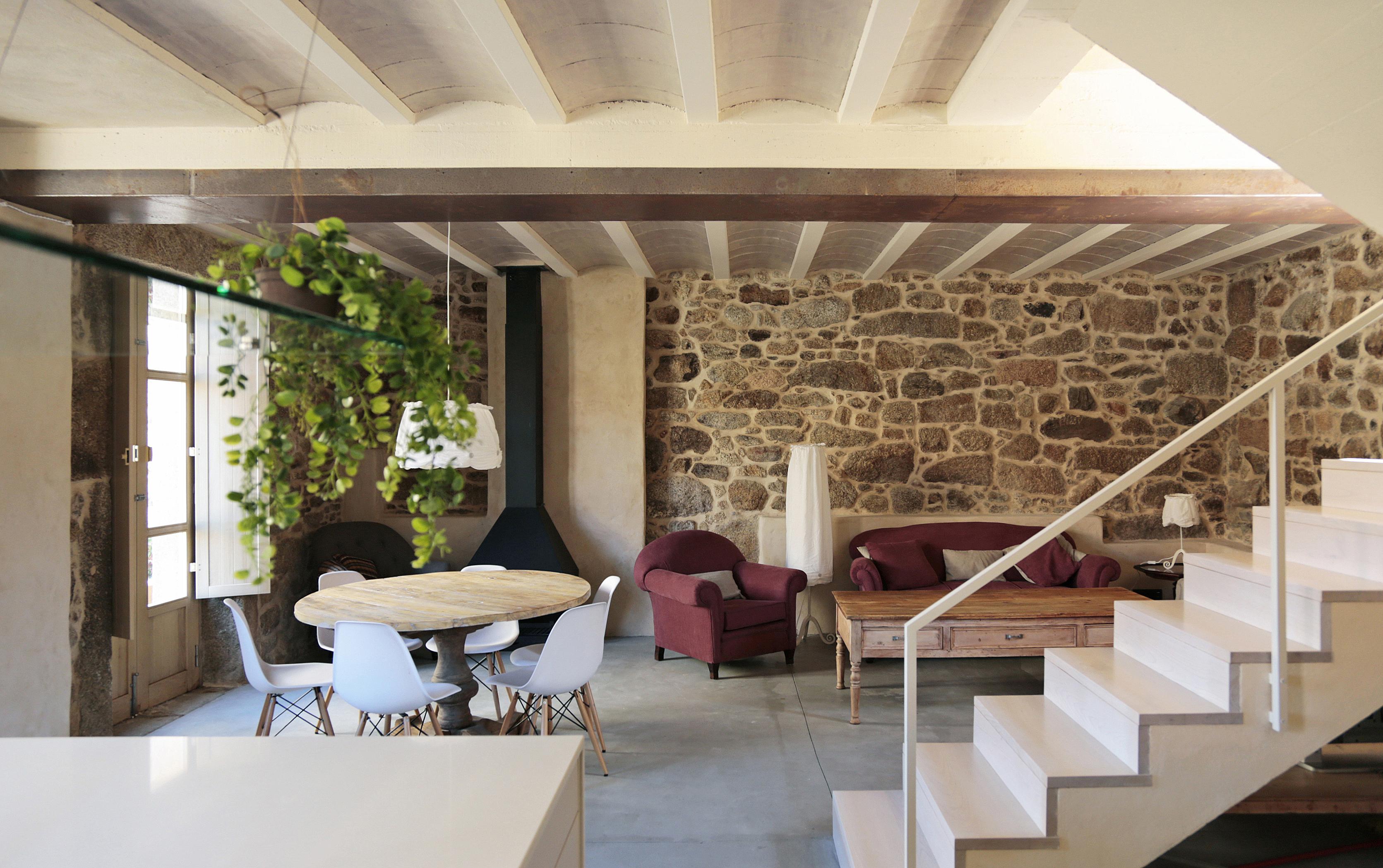Rehabilitaci n de una casa en carnota dom arquitectura - Rehabilitacion de casas ...