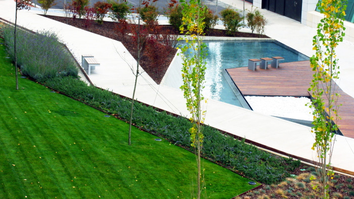 Jardines del Museo Würth La Rioja