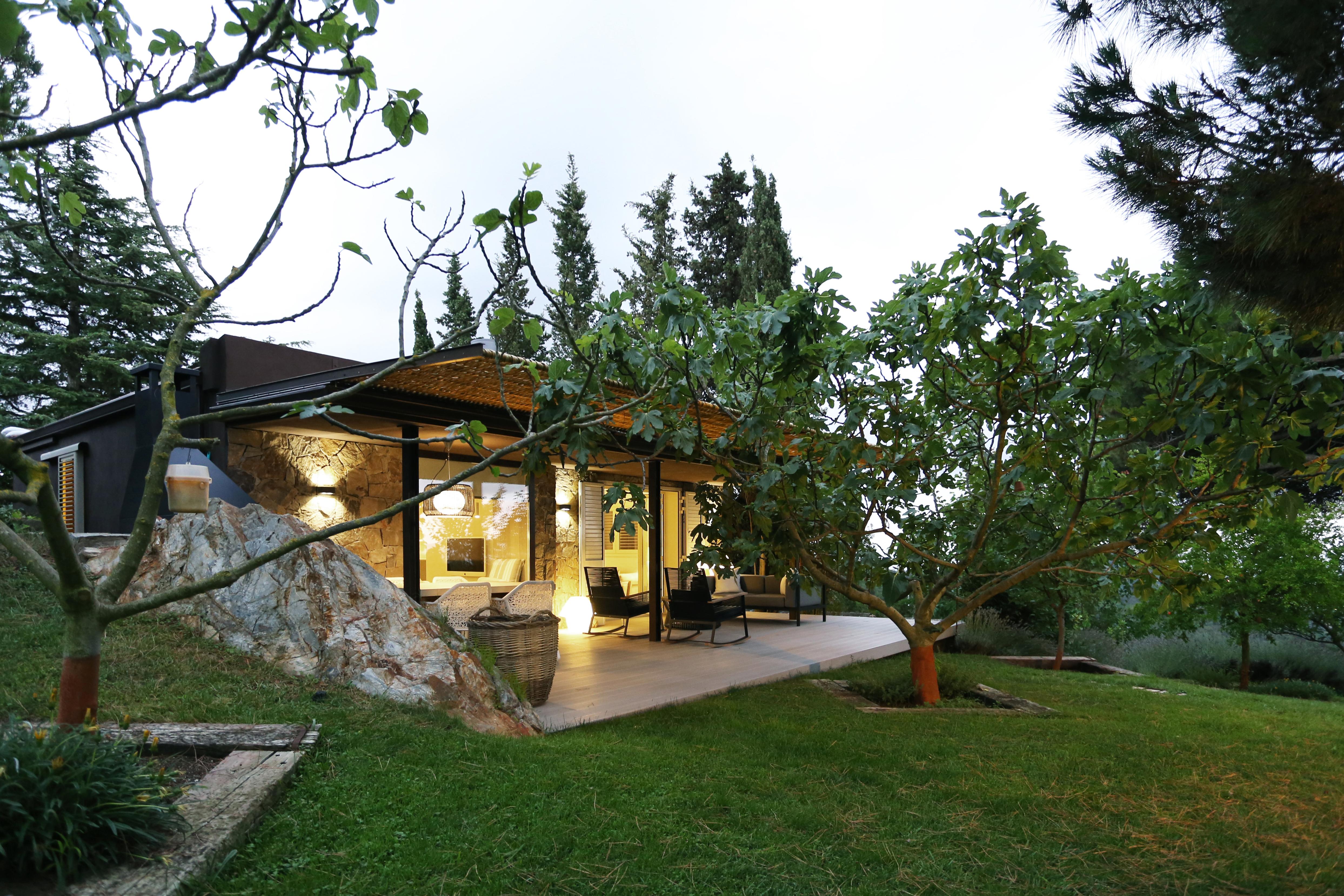 Casa de invitados en la monta a dom arquitectura for Casa en la montana