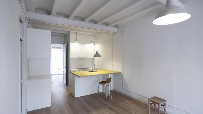 Reforma de dos pisos de alquiler