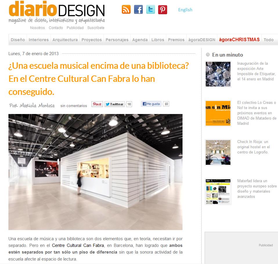 diario design taller musics