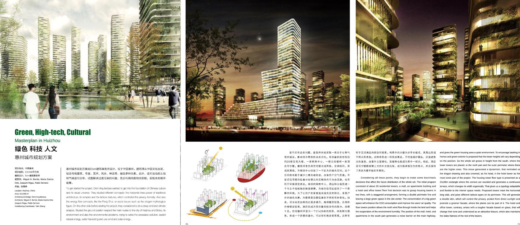 masterplan in Huizhou-2red