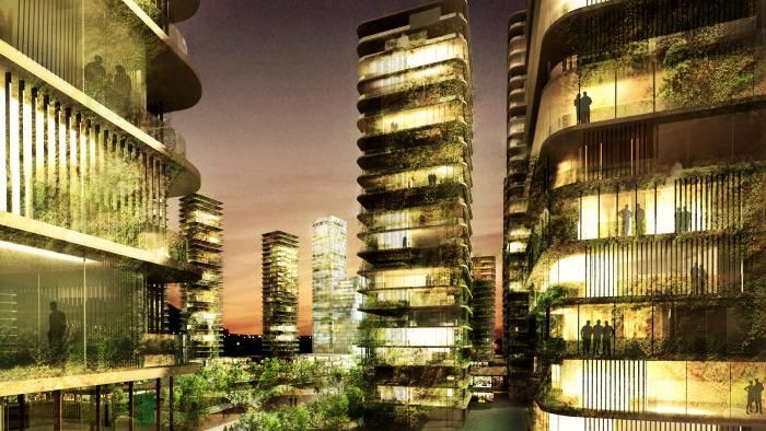 Masterplan en Huizhou