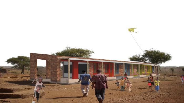 Escuela Hawelty en Etiopía