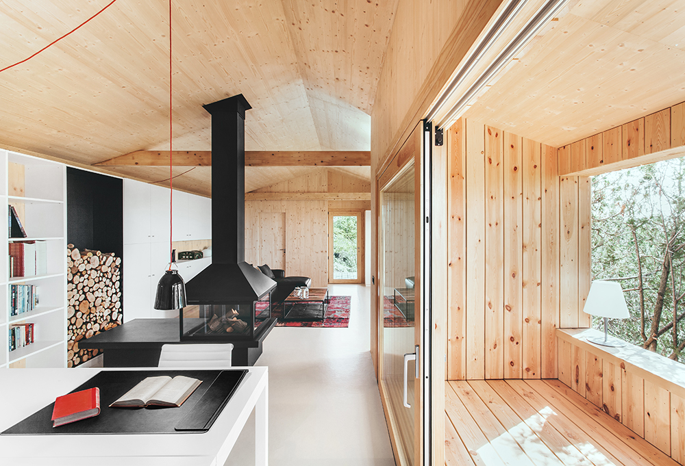 wood studio house dom arquitectura